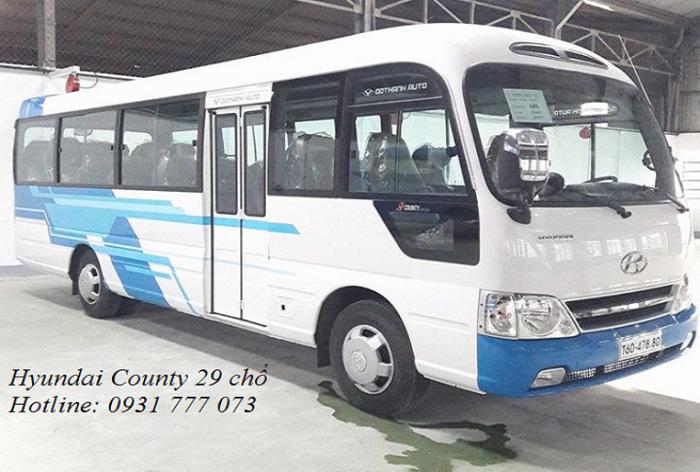 Xe khách 29 chỗ - Giao xe trong vòng 5 ngày - Hỗ trợ trả góp lãi suất thấp.