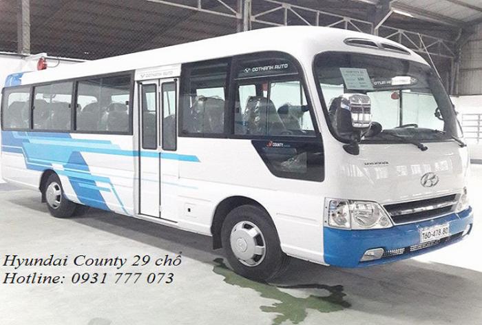 Xe khách 29 chỗ - Giao xe trong vòng 5 ngày - Hỗ trợ giao xe nhanh.