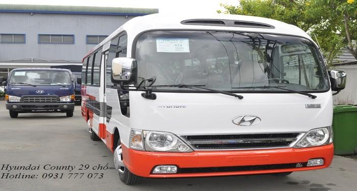 Hyundai County 29 chỗ nhập khẩu