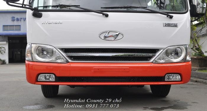 Hyundai County 29 chỗ nhập khẩu, chỉ cần trả trước 200 triệu
