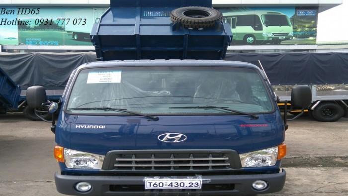Xe Ben Hyundai HD65 2,5 Tấn - Hyundai Đô Thành