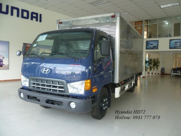 Xe tải Hyundai HD72 3,5 Tấn Vay Trả Góp Chỉ 150 triệu Giao Xe Ngay Tháng
