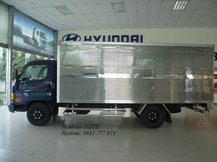 Xe tải Hyundai HD72 3,5 Tấn Vay Trả Góp Chỉ 150 triệu Giao Xe Ngay