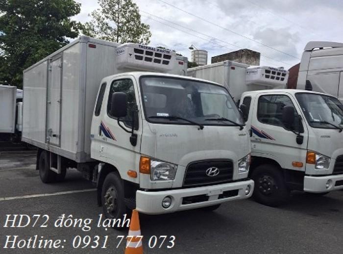 Xe tải Hyundai HD72 Đông Lạnh, Vay trả góp chỉ 100 triệu, giao xe trong vòng 10 ngày 0