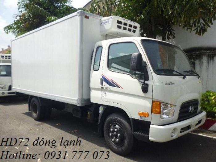Xe tải Hyundai HD72 Đông Lạnh, Vay trả góp chỉ 100 triệu, giao xe trong vòng 10 ngày 3