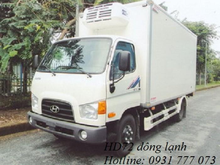 Xe tải Hyundai HD72 Đông Lạnh, Vay trả góp chỉ 100 triệu, giao xe trong vòng 10 ngày 4