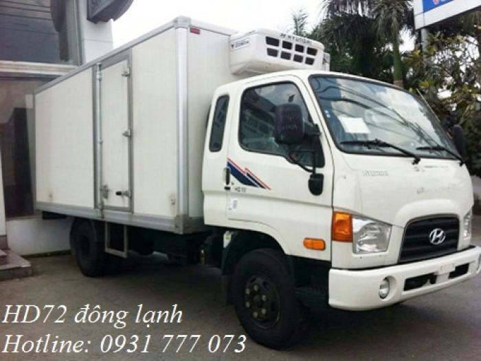 Xe tải Hyundai HD72 Đông Lạnh, Vay trả góp chỉ 100 triệu, giao xe trong vòng 10 ngày 5