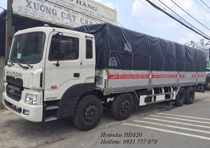 Xe tải Hyundai HD320 18 Tấn - Hyundai Đô...