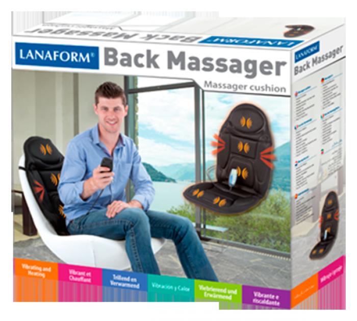Đệm Massage cho Ô tô Lanaform ( nhập Bỉ )