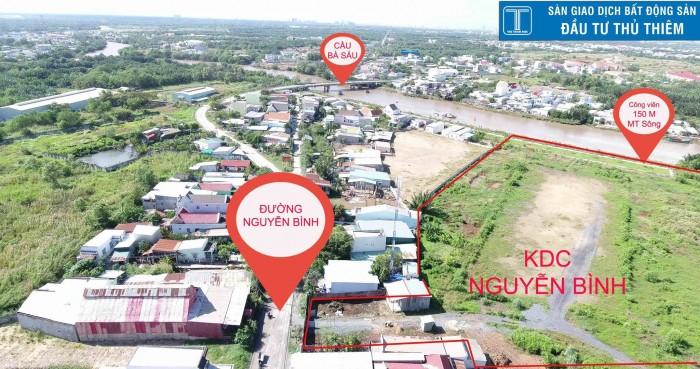 Đất nền Nguyễn Bình xây dựng tự do, sở hữu ngay chỉ 14.8 triệu/m2