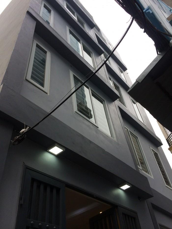 Nhà Đẹp 5 Tầng Phố Bạch Mai, Dt 40M- Mt 5M - Ngõ Rộng- Gần Phố - 3.1 Tỷ.
