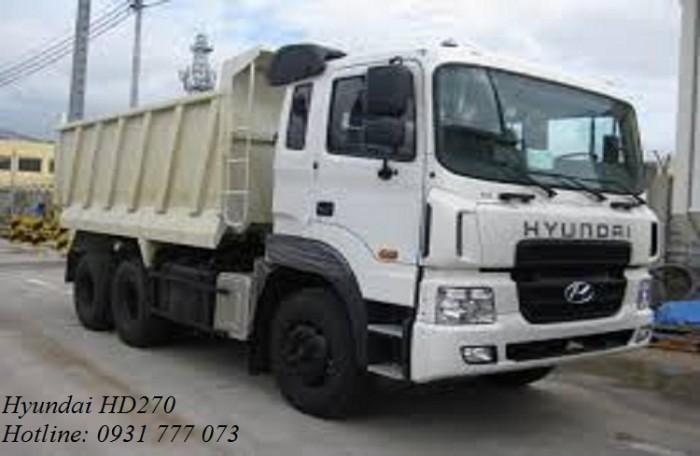 Xe Ben Hyundai 15 Tấn - Xe Ben Tự Đổ Hyundai HD270 3