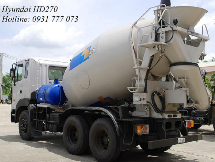 Xe bồn trộn bê tông Hyundai 15 tấn HD270 7m3 - Hyundai Đô Thành
