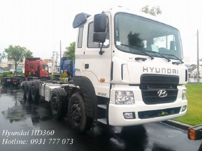 Hyundai HD360 sản xuất năm 2018 Số tay (số sàn) Xe tải động cơ Dầu diesel