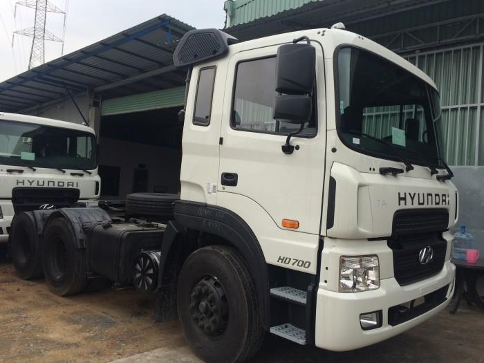 Xe đầu kéo Hyundai HD700 - Hỗ trợ trả góp lãi suất thấp - Hotline: 0931777073 (24/24)