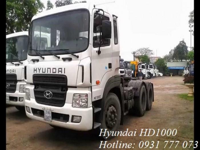Xe đầu kéo Hyundai HD1000 2