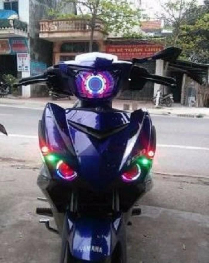 Đèn Led Mắt Cú Rainbow 7 Màu For Exciter 150 2017 4
