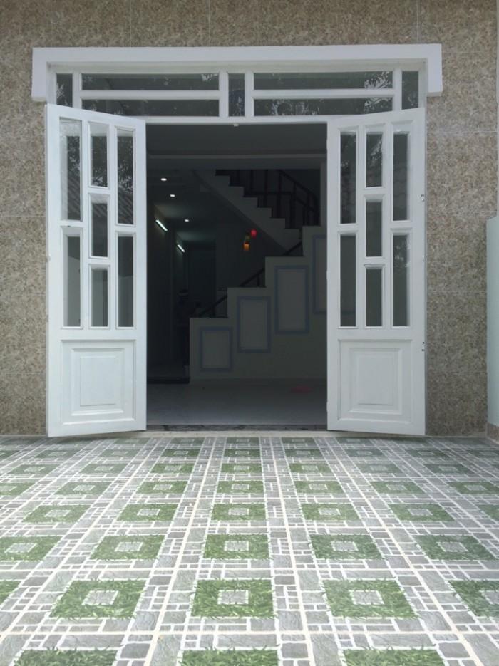 Nhà Thạnh Xuân 38, dt 5x15m , đường thông 7m