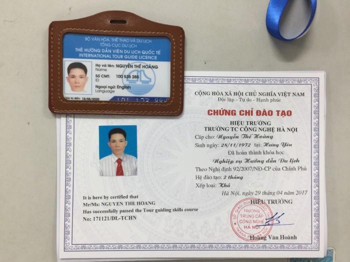 Khóa học Chứng chỉ du lịch - Cấp Thẻ HDV tại Sở DL