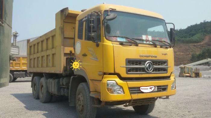 Bán xe Ben Dongfeng Hoàng Huy 3 chân 9 tấn. đời 2010