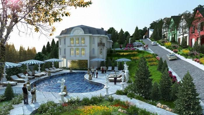 Sunset Villas Royal Garden đầu tư lợi nhuận kép-Kí hợp đồng trực tiếp với CĐT.
