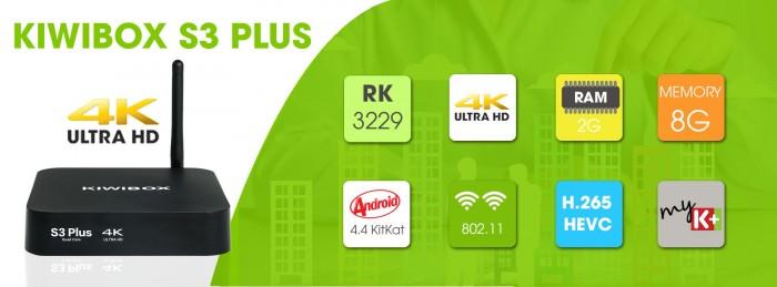 Kiwibox S3 Plus RAM 2 GB – Cấu hình vượt trội2
