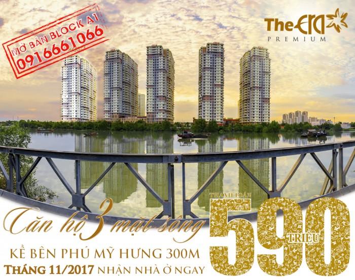 Căn Hộ Kề Bên Phú Mỹ Hưng 500M & Nhận Nhà Mới Để Ở Trong Tháng 11/2017