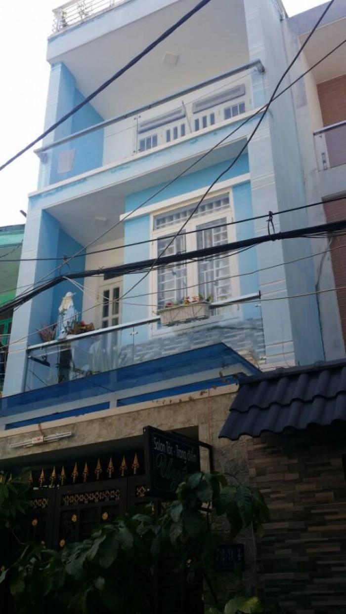 Nhà Cần Bán ,Đường Số 30,p6,Gò Vấp,Đối Diện Chợ An Nhơn ,Hiện Trạng Nhà Đẹp