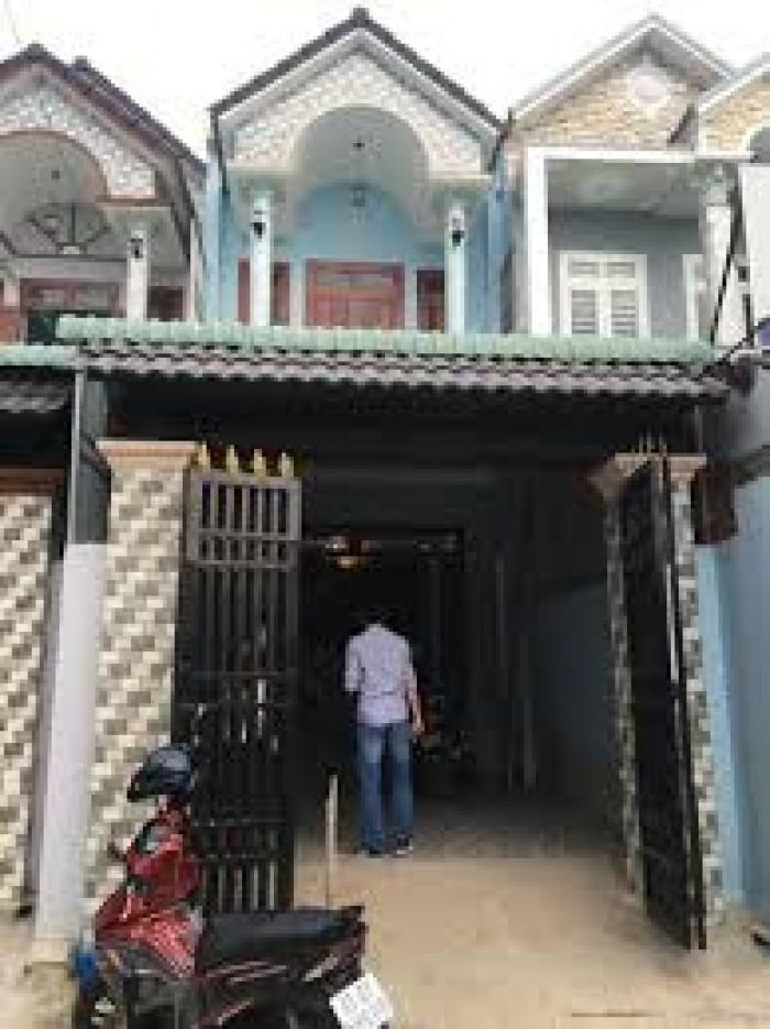 Bán nhà mới xây, 4PN, 1 lầu SHR, Đường Nguyễn Hữu Trí, Bình Chánh