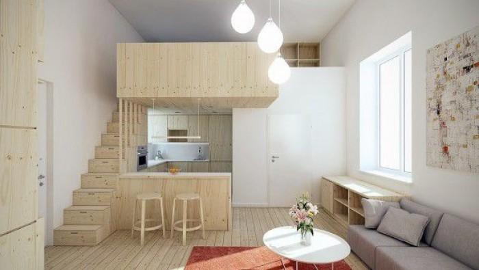 Căn hộ chung cư mini cao cấp giá rẻ dành cho người có thu nhập thấp chỉ 198tr/căn