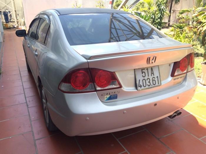 Bán Honda Civic 1.8 AT sx 2008 màu bạc