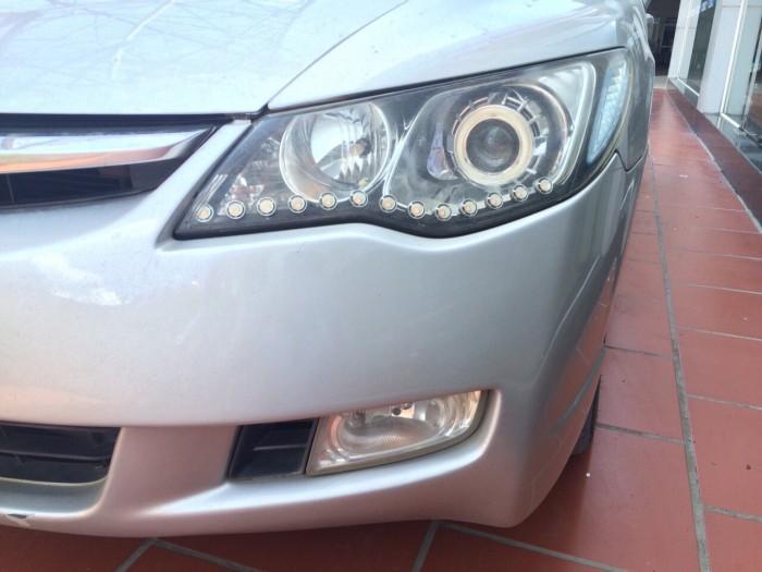 Bán Honda Civic 1.8 AT sx 2008 màu bạc 5