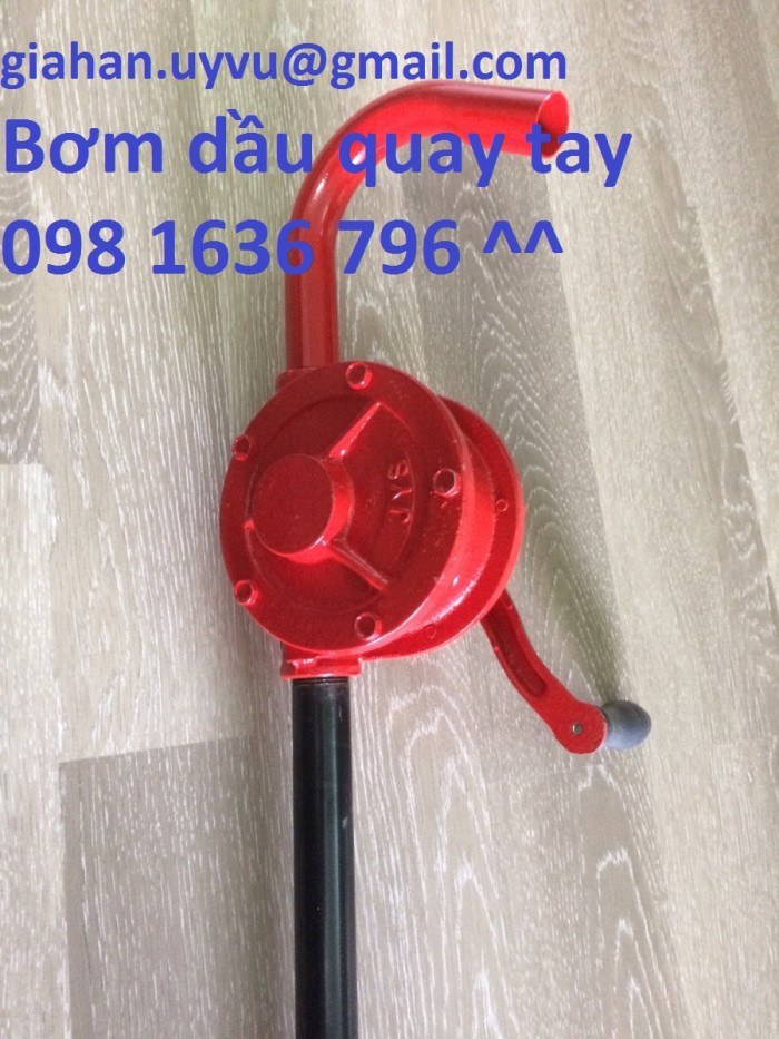 Bơm dầu quay tay - Bơm dầu nhớt quay tay chính hãng giá tốt nhất