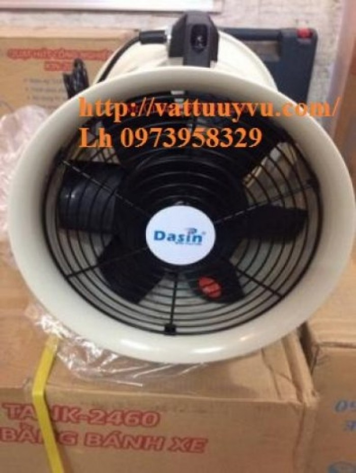 Quạt Công Nghiệp Dasin Kin - 200 , Kin - 300, Kin - 500 , Ống Gió Kin0