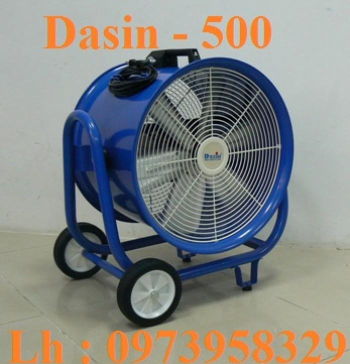 Quạt Công Nghiệp Dasin Kin - 200 , Kin - 300, Kin - 500 , Ống Gió Kin1
