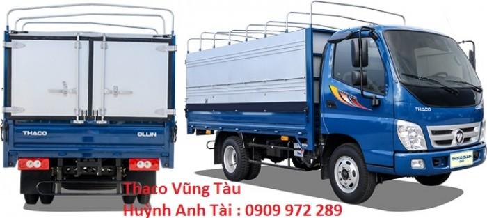 Bán xe tải trả góp thaco ollin 2,4 tấn 3,5 tấn Vũng Tàu 0