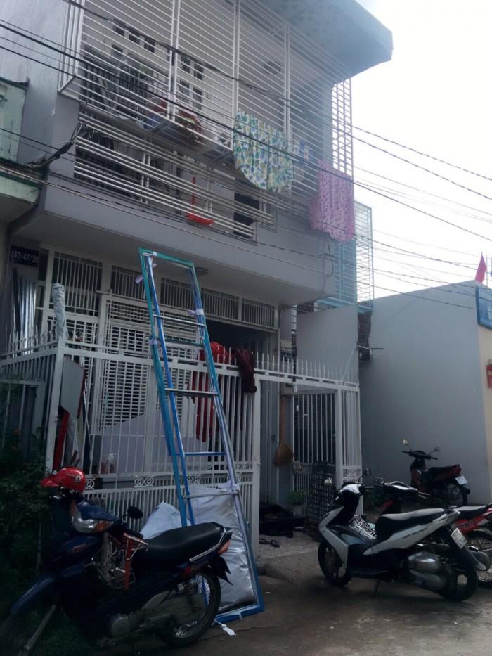 Bán nhà hẻm 487 Huỳnh Tấn Phát, Q7, DT 4,5 x15m, 2 tầng, Giá 3,75 tỷ
