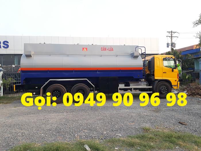 Hino FL8JTSA bồn chở xăng dầu