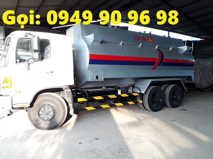 Xe Hino bồn chở 20 khối  xăng dầu