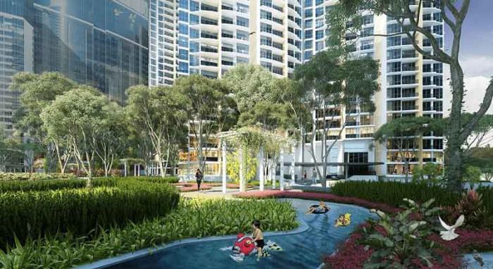 Bán căn hộ Dragon Hill Nguyễn Hữu Thọ Nhà Bè giá chỉ cần thanh toán 480 triệu nhận nhà