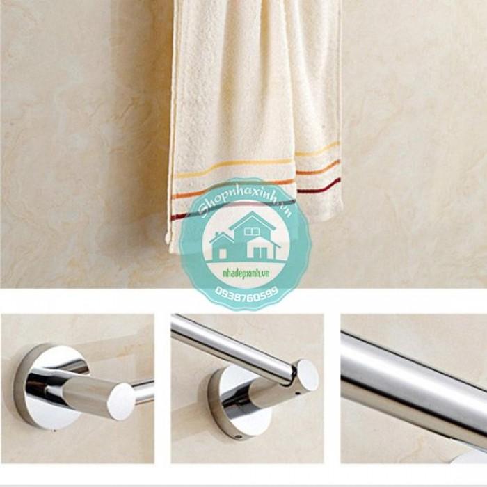 Giá treo khăn tắm inox 304 cao cấp NX6895