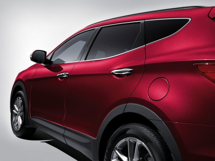 Hyundai Santa Fe sản xuất năm 2017 Số tự động Động cơ Xăng
