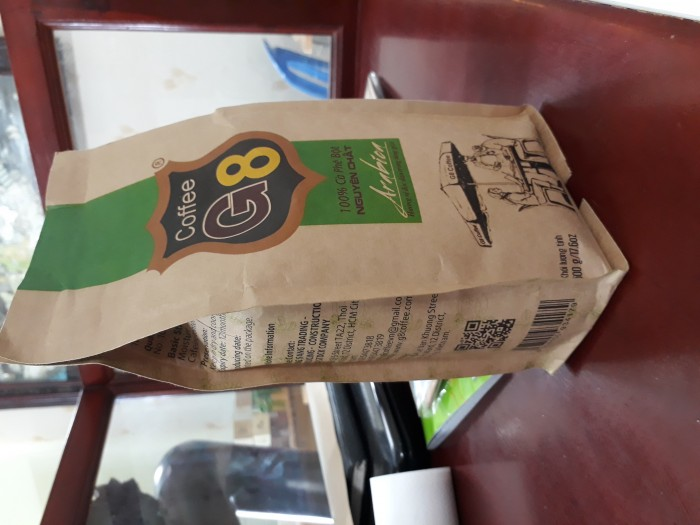 Túi đựng cà phê giấy kraft , giá rẻ0