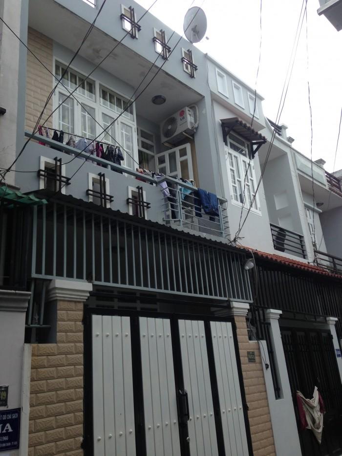 Nhà mới Hương Lộ 80, 64m2, SH ngay Chợ Ấp 1, UBND VLB, Giá 1,53 tỷ
