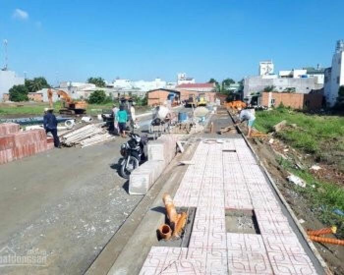 Nhanh tay sở hữu lô đát nền sát kênh Tham Lương quận 12