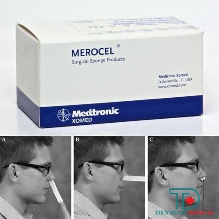 Merocel Cầm Máu Mũi1