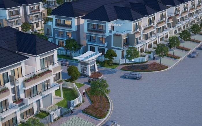 Cần bán nhà đường Liên Phường, căn góc bìa Merita Khang Điền-Q9. Dt 7x17m, dt sàn 164m2. 1T2L, SH.