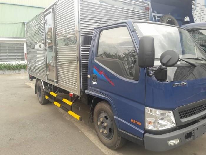 Xe tải iz49 2t4 đô thành, xe iz49, giá xe iz49 thùng bạt rẻ nhất, xe iz49 vào thành phố