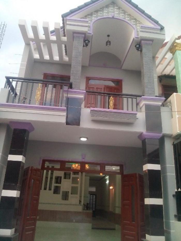 Nhà mới đẹp 1 Trệt 1 Lầu- Sổ hồng riêng, thổ cư 100% -Ngã 4 Bình Chuẩn, Thuận An