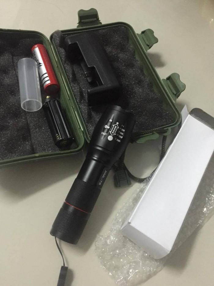 Đèn pin police siêu sáng 3 chế độ